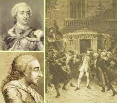 La tentative d'assassinat de Louis XV par Damiens
