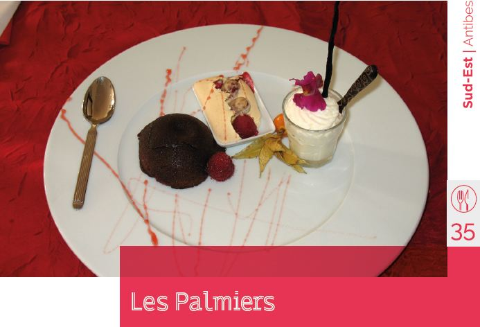 les plamiers restaurant d'application