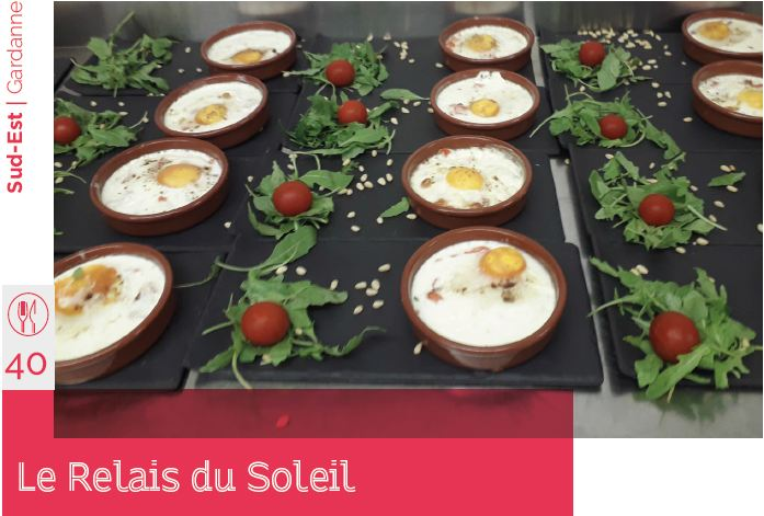 le relais du soleil restaurant d'application