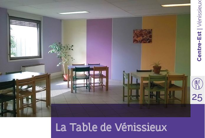 la table des vénissieux restaurant d'application