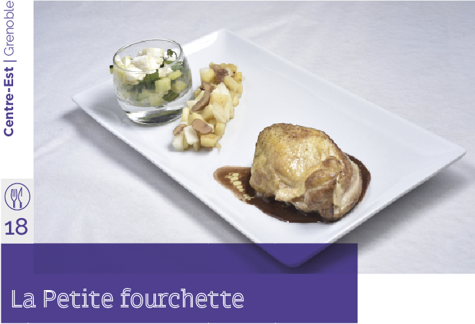 la petite fourchette restaurant d'application
