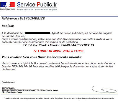 Premier mail site rencontre exemple