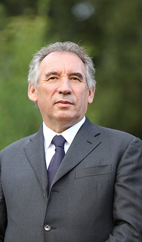 François Bayrou -  Crédits photo : MJ/Dicom