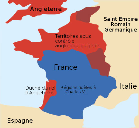 La France au XVe si�cle - Disponible sur Wikicommons