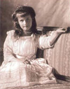 Photographie de la princesse Anastasia - Sources : Wikimedia Commons