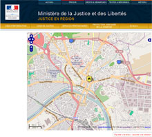 """Annuaire """"Justice en r�gions"""""""