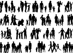 Mosaque de familles  Pawel Nowik - Fotolia.com