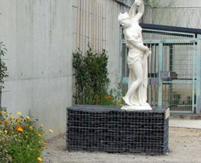 Exposition de deux moulages du Louvre de statues � la MC de Poissy Cr�dit photo SCERI