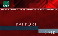 Rapport SCPC 2010
