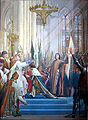 Sacre de Charles VII à Reims - Disponible sur Wikicommons