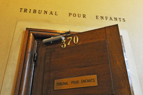 Palais de Justice de Paris. Tribunal pour enfants - Photo : Dicom - Caroline Montagn