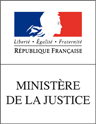 Logo du ministère de la Justice